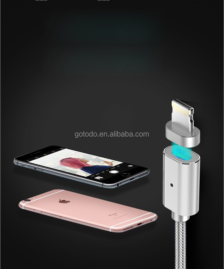 2.4A data line for iPhone Magnetic USB charging Cable quick charger
