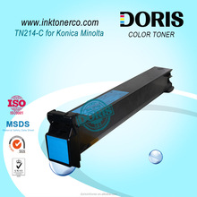 TN214 Cyan color toner for Konica Minolta Bizhub C353 C353P C253 C203 C210 C200 copier printer laser toner