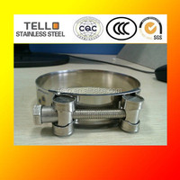 Stainless Steel Single Solid Strong Clamp