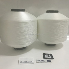 SD White 50d/75d/100d/150d polyester yarn weft label yarn
