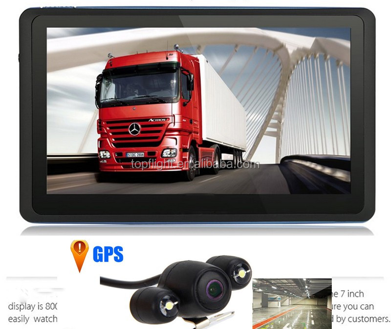 "7"" Touch Screen RAM128MB ROM 4G Bluetooth AV-IN Free Map Navigator Skoda Octavia+Parking Rear View Camera"