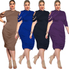2019 Wholesale New Design Plus Size Dresses 6xl