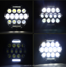 New LED Lights 78w 7 inch LED Spot Motorcycle LED Light High Harley LED Headlight