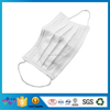 Dustproof 3ply Nonwoven Disposable Face Mask With Earloop or Tie For Food Processing Workshop