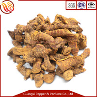 Organic ginger root galangal spice