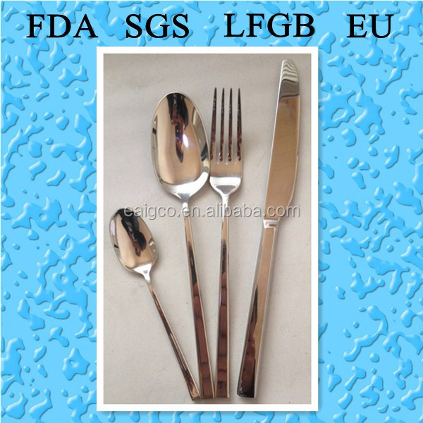 High quality and top grade Stainless steel cutlery and flatware sets