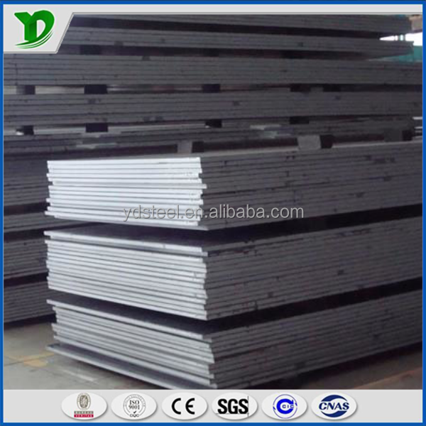25mm thick mild steel plate/st 52.3 steel plate sheet