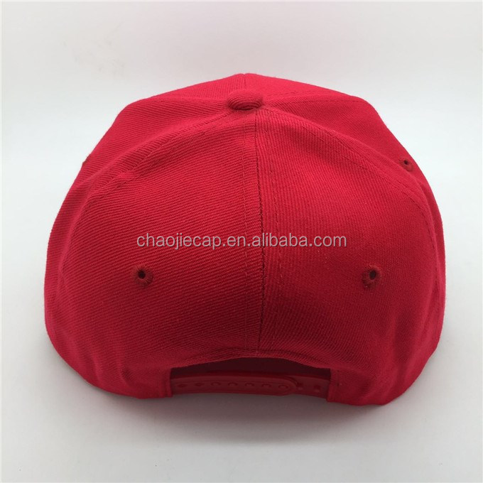 Fashion hip-hop street style 3D embroidery snapback cap