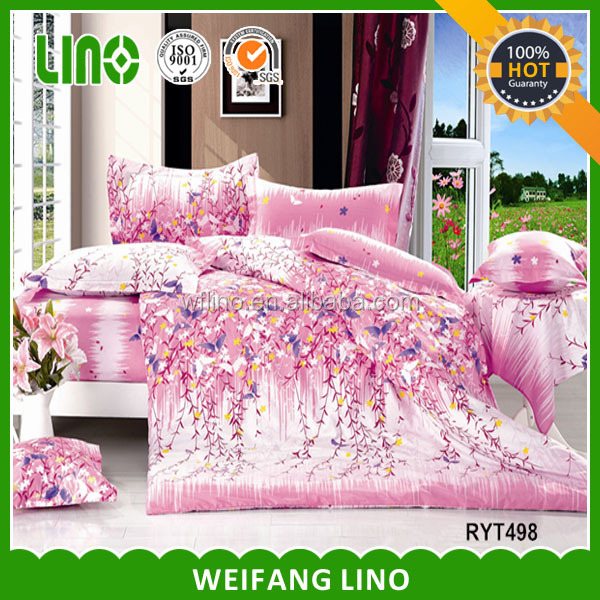 2014 cheaper comforter bedding sets low price/turkish wedding cover set/jersey pillow case