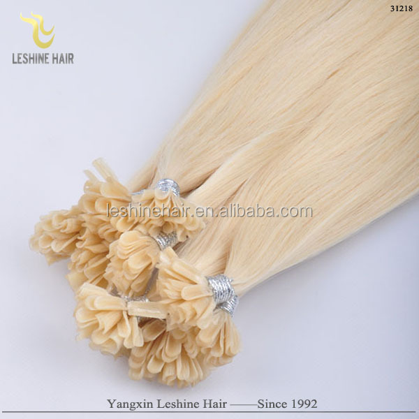 super quality Italian glue remy cheap wholesale double drawn virgin keratin fusion human hair extensions