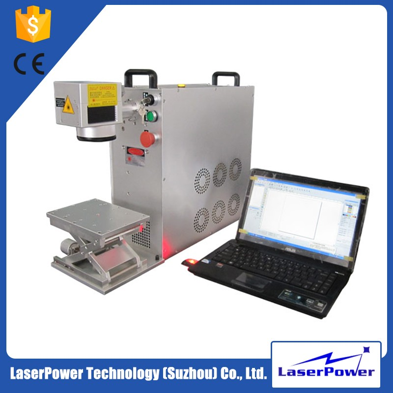 Professional animal tag laser marking machine for metal and plastic logo printing