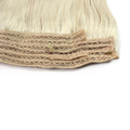 Top Selling Raw Unprocessed Halo Hair Natural #613 Blonde Virgin Straight Russian Hair Extension