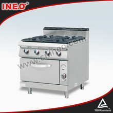 Restaurant Commercial Gas Cooking Range With Oven/Outdoor Kitchen Oven/Free Standing Gas Cooker Oven