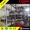 Fully continuous waste plastic oil pyrolysis plant
