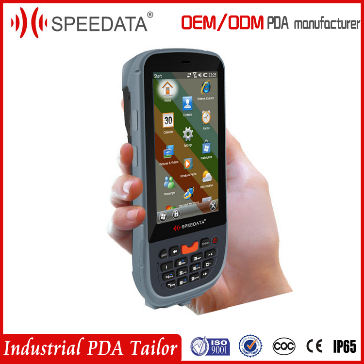 Cost-effective Speedata TT43 Wireless Handheld Mobile Android 1d and 2d barcode scanner 3g gprs (Rugged,waterproof,dustproof)