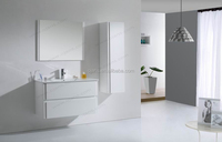 High glossy lacquered 1000mm bathroom vanity set