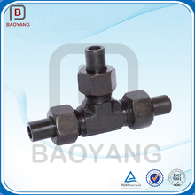 China supplier forged carbon steel bellmouth pipe fitting