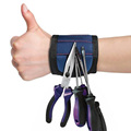 with 5 Powerful Permanent wristband Magnetic Wristband for Holding Tools with Adjustable Strap