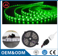 black fpcb 12V 5050 flexible rgb led strip light 5m/roll 60led/m waterproof IP65