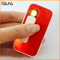 SILFA Rechargeable flamless USB lighter factory with 2GB-32GB USB flash drive