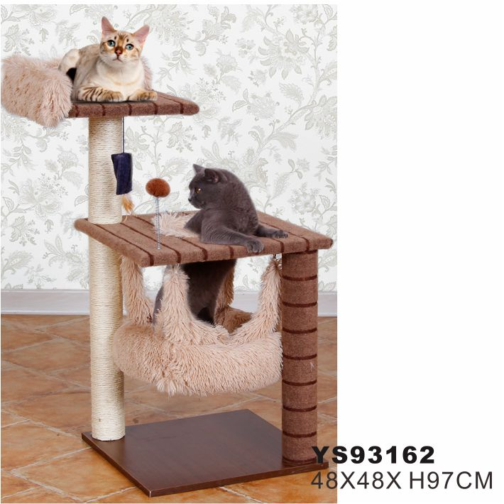 Pet Cages Carriers & Houses Type and Cats Application Playful Sisal Cat Tree