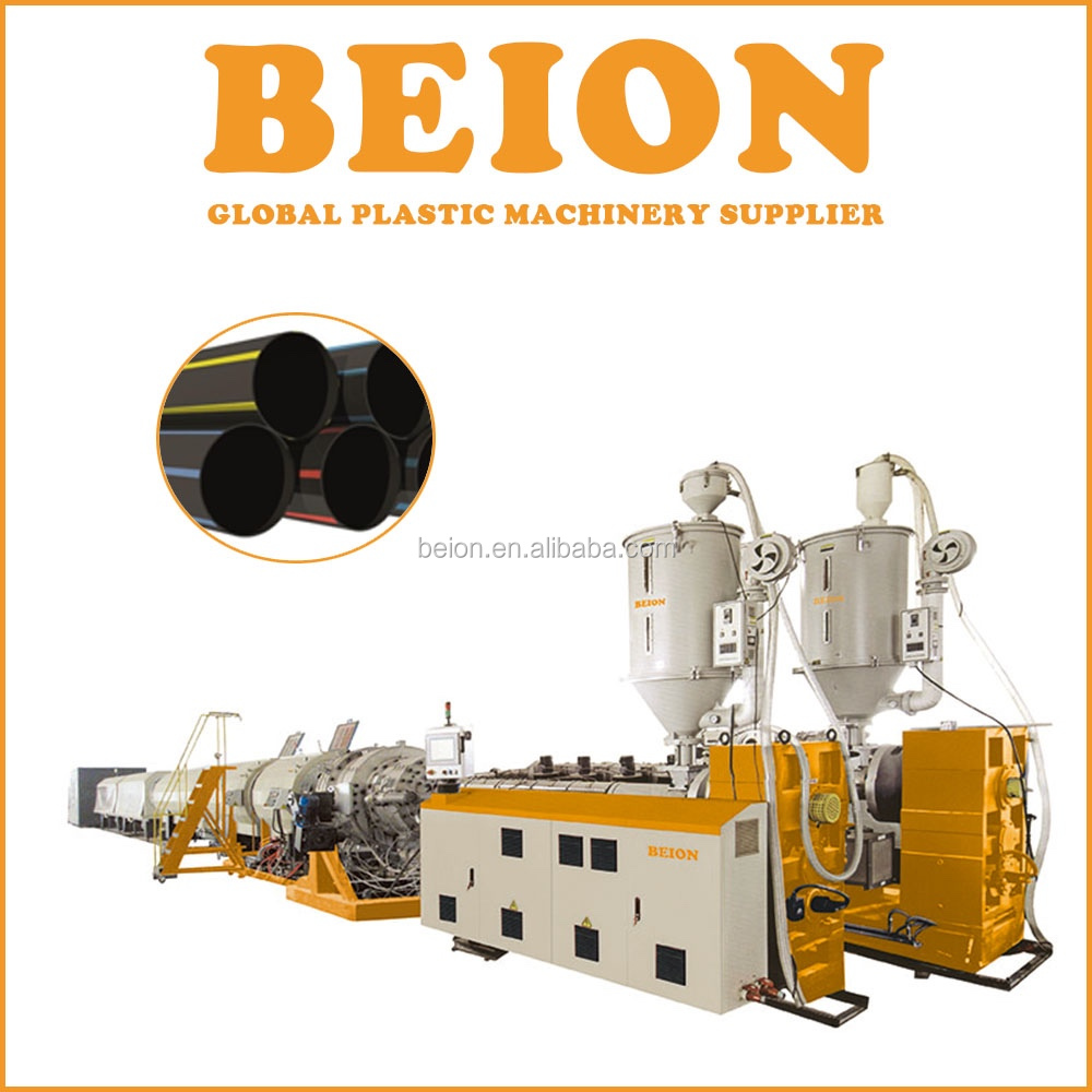 PE Plastic pipe extruding machine / 630MM HDPE pipe extrusion product line