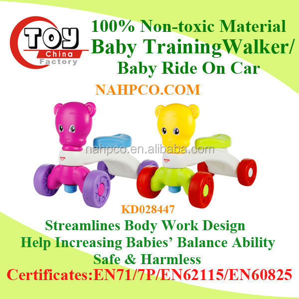 wholesale best selling baby plastic swing car ride on toy car for children
