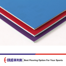 ITTF Certificated Good Quality PVC Table Tennis mat floor for competition and training