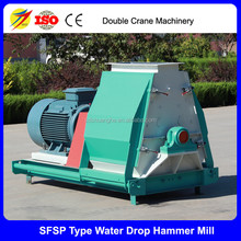 water -drop type maize corn hammer mill for sale