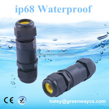 ip68 wire joint connector M20 M25 connector for underwater sea light