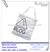 promotional 10oz cotton canvas tote bag
