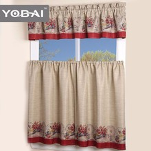 Design Custom Window Modern Kitchen Printing Curtains Patterns For Hotels