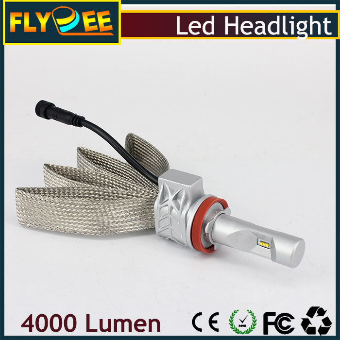 5G wholesale high power super bright Version PHI-ZES 5S LED H8 led lamps 4000LM auto led H8 headlight 12-24V Car H8 head light