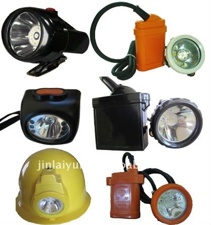 high power LED miner helmet light
