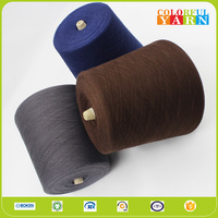 Comfortable cotton weaving and hand knitting yarn