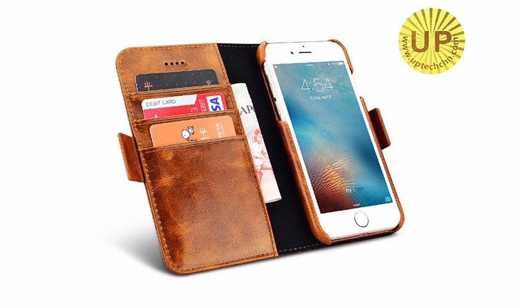 Fashional Flip Leather Cover Case 4.7 inch For iPhone 6 Phone Bag Multi functional card holder wallet case Phone Cover