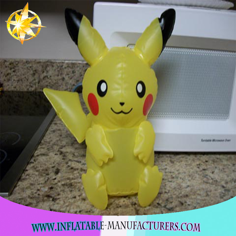 New arrivals 2018 High Quality Cartoon Characters pokemon inflatable toys for kids