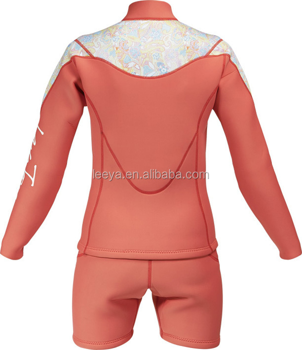 Fashion neoprene 3mm CR printing diving wetsuit/womens sexy wetsuits W-05