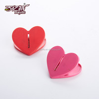 Hot Selling Heart Shaped Office Plastic