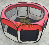 Outdoor Pet Playpen Cage. Best Exercise Kennel for Your Dog, Cat, Rabbit, Puppy, Hamster or Guinea Pig. Portable for Easy Travel