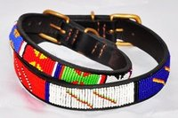 beaded dogs collars