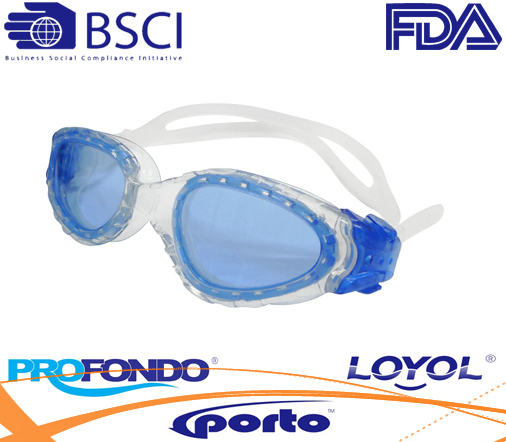 Good Quality antifog coated swim goggle with good quality