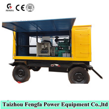 200kw car diesel generator with four wheel