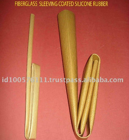 Indonesia Low to High Voltage 0.5mm - 120mm Fiberglass Sleeving Coated Soft Silicone Rubber