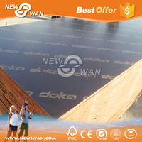 Concrete Shuttering Board / Construction Plywood at Factory Price