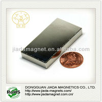 super strong grade n52 rare earth neodymium block magnets for hot sale