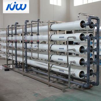 Industrial Reverse Osmosis System Remove Hardness Water Purifier Plant Filter Factory Construction