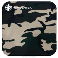 Camouflage poly fabric For pants, decoration, T/SP 95/5, polyester fabric