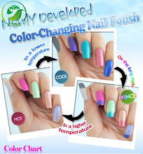 Free samples 2016 new product sunshine /temperture changing amazing temperture changing uv gel polish