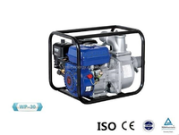 High efficiency WP20 2 Inch Agricultural Gasoline Water Pump , self priming centrifugal pump Powered by 6.5HP engine